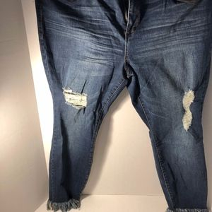 ankle cropped jeans new with tags